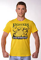 Мужская спортивная футболка Berserk Sport желтый