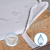 Наматрасник детский 120х60 Аквастоп непромокашка впитывающий на резинке по углам матрас в кроватку 3736