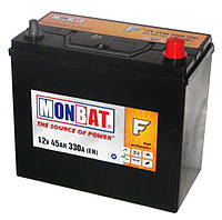 Автомобильная стартерная батарея Monbat 6СТ-45 545 70 14 SMF R+