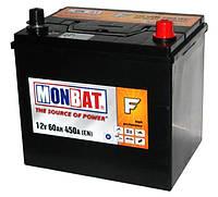 Автомобильная стартерная батарея Monbat 6СТ-60 560 70 14 SMF R+