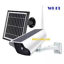 Многофункциональная Камера видеонаблюдения WI-FI Y9 с WIFI  2mp | C солнечной панелью