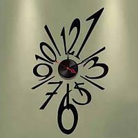 Декоративная виниловая наклейка NL22, Часы-наклейка 1*AА батарея( в комплект не входит), Feron