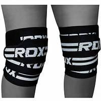 Фиксатор коленного сустава 2 м RDX черный