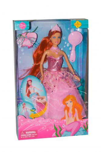 "Кукла ""Defa: принцесса русалка"" (в розовом) 8188"