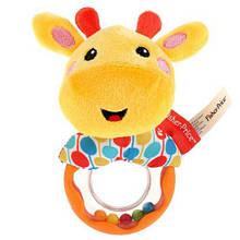 М'яка іграшка брязкальце Жирафчик GH73133