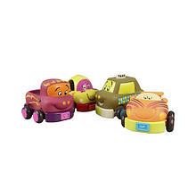 Гумові іграшки, машинки, Battat