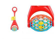 Іграшка каталка м'ячик, 58101, Bebelino