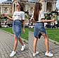 """Жіноча коротка джинсова спідниця """"9981"""", фото 3"""