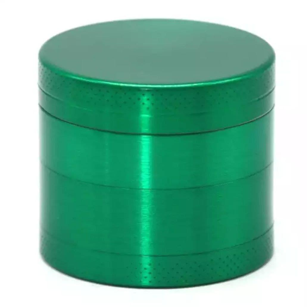 Измельчитель табака приправ металлический зелёный
