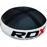 Напольный фиксатор - утяжитель для боксерской груши RDX черный/белый