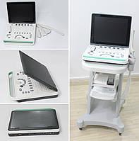 15 дюймовый ЖК ноутбук с ультразвуковой системой (УЗИ аппарат) arm на основе USG, 4 Зонда в комплекте, фото 1