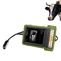 Ультразвуковой мини Сканер, УЗИ с экраном 5,7, сканер для свиней, собак, лошадей, крупного рогатого, с 4 Зонда, фото 1