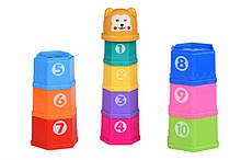 Набір для пісочниці пасочки - Чашки 10 шт, Same Toy