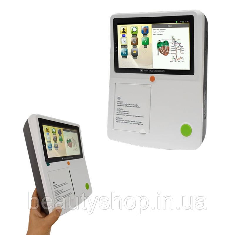 Сенсорний екран, 3 лампи, 12 свинцевих ЕКГ машин з папером для принтера