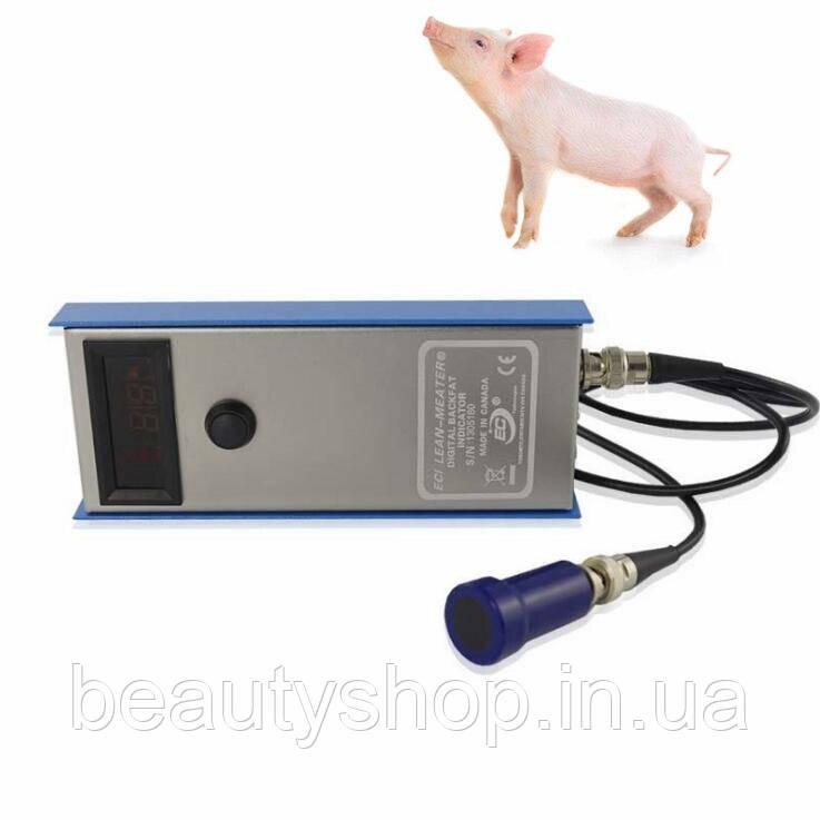 Свинья крупного рогатого скота задняя жира измерения тестер, ветеринарии, backfat измеритель толщины