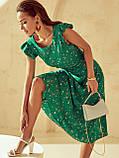 Плаття-міді в квітковому принте з вирізом по спинці ЛІТО, фото 8
