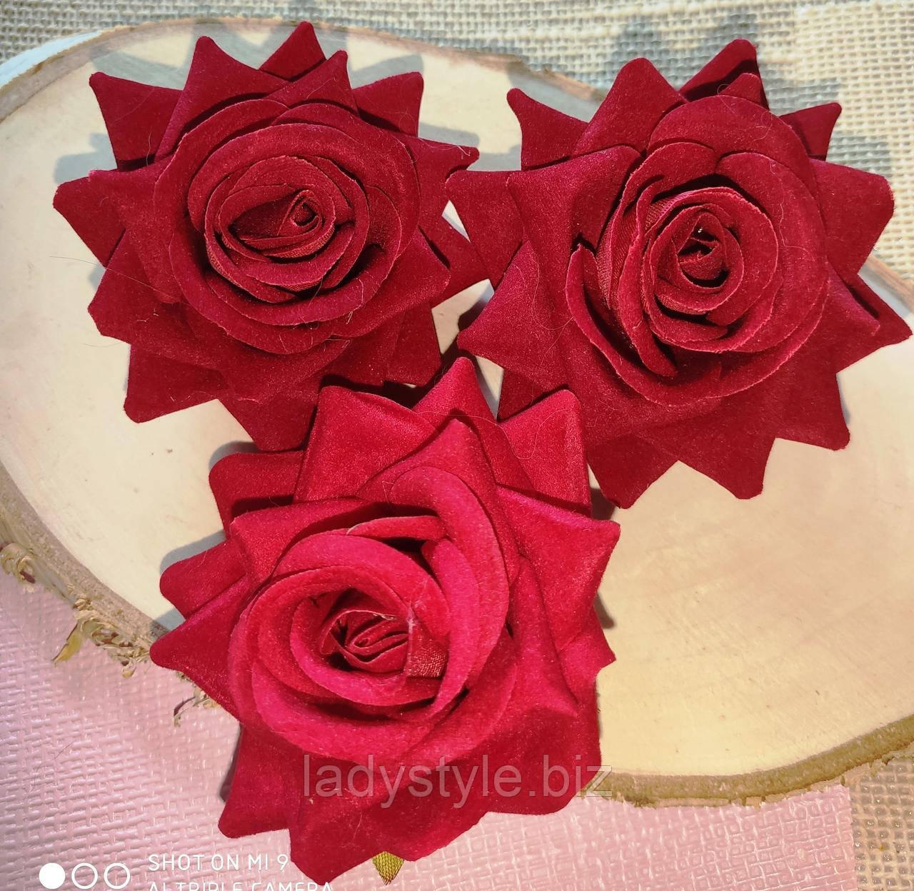 Заколка - брошка троянда від LadyStyle.Biz