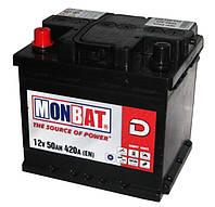 Автомобильная стартерная батарея Monbat 6СТ-50 550 70 02 MF L+