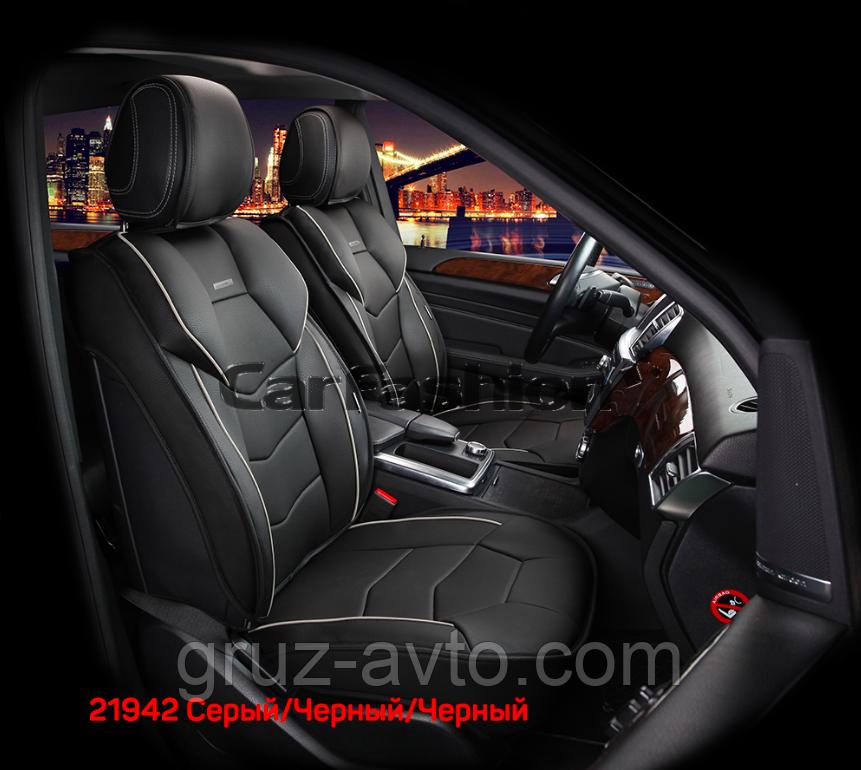 Накидки на сидения CarFashion Модель: Samurai FRONT комплект два передних сидения