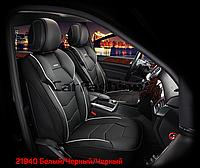 Накидки на сидіння CarFashion Модель: Samurai FRONT комплект два передніх сидіння, фото 1