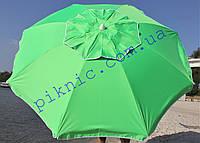 Уценка!! Пляжный зонт 2 м клапан и наклон. Плотная ткань. Тканевый чехол. Зонтик для пляжа от солнца