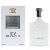 Мужская парфюмированная вода CREED Silver Mountain Water 100 мл (Euro)