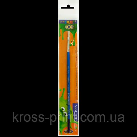 Щетина плоска Кисть 3, блістер, SMART Line