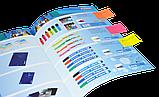 Закладки бумажные с клейким слоем, 20х50мм, 4х50 листов, неон, ассорти, фото 3
