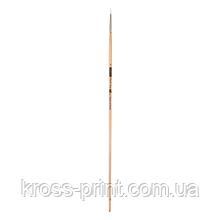 Кисть синтетика, Creamy 6973, круглая, №1, длинная ручка, ART Line