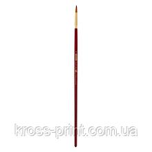 Кисть синтетика, Cherry 6971, круглая,№ 8, длинная ручка, ART Line