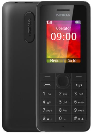 Мобільний телефон Nokia 106 Black 800 мАч Оригінал