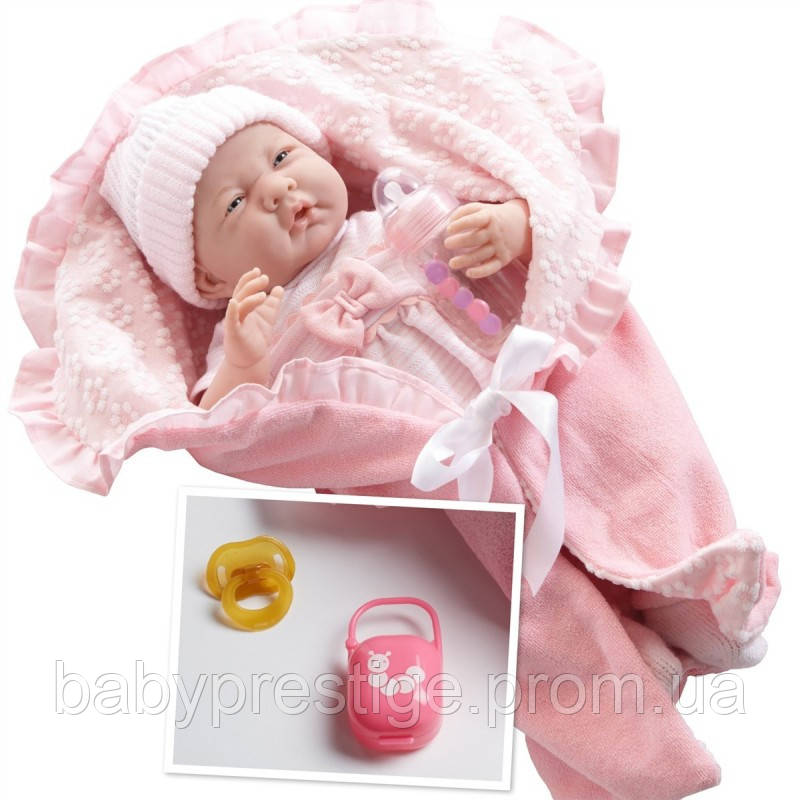 Новорожденный пупс berenguer с в конверте с аксессуарами Boutique, девочка 39 см