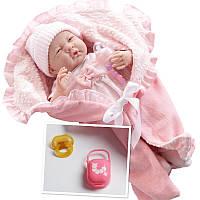 Новорожденный пупс berenguer с в конверте с аксессуарами Boutique, девочка 39 см , фото 1