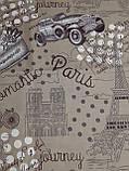 Простынь из полиэстера полуторная Авто, фото 5