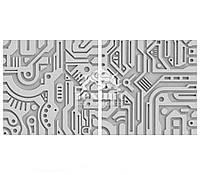 Гіпсові 3D (3д) панелі Steampunk Texturo