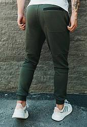 Мужские спортивные штаны Staff cas khaki basic хаки FOT0058