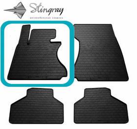 Передні автомобільні гумові килимки (2 шт) для BMW 7 (E66) (2002-2008) комплект з переднього лівого килимка
