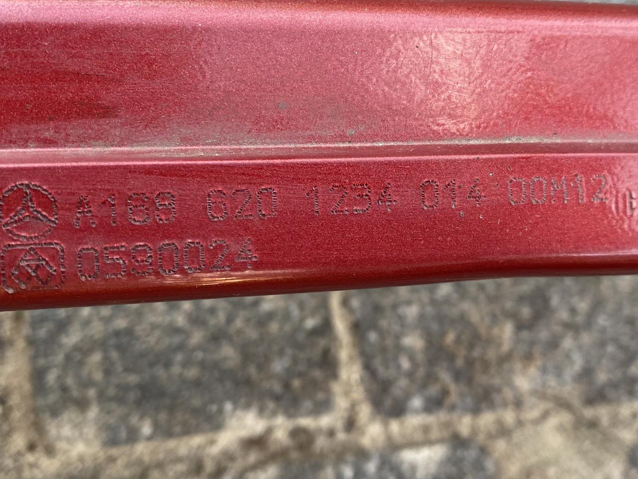 Усилитель переднего бампера mercedes a1686201234  a-class w168 1997-2004