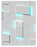 Гіпсові світлові LED-панелі Квадрати Texturo