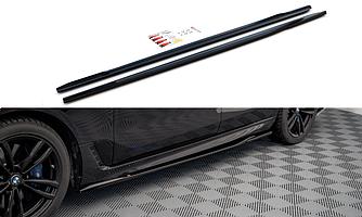 Пороги BMW G32 6 GT M Sport елерон тюнінг обвіс