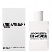 Женская парфюмированная вода Zadig&Voltaire This is Her 100 мл