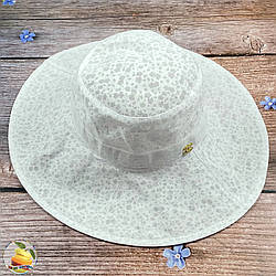 Світла жіноча капелюх (обсяг 55 - 56 см) (02077)