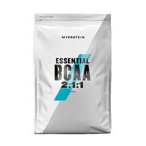 ВСАА Аминокислоты MyProtein Essential BCAA 2:1:1 1 kg натуральный вкус