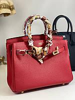 Стильна жіноча сумочка Гермес Біркін 30 см (репліка), фото 1