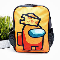 Маленький дитячий рюкзак поліестер жовтий Арт.44-4 (Україна)