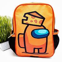 Дитячий рюкзак для малюків поліестер помаранчевий Арт.44-5 (Україна)