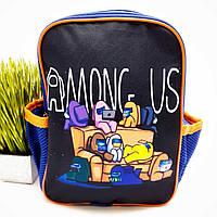 Дитячий рюкзак для малюків поліестер синій Арт.44-10 (Україна)