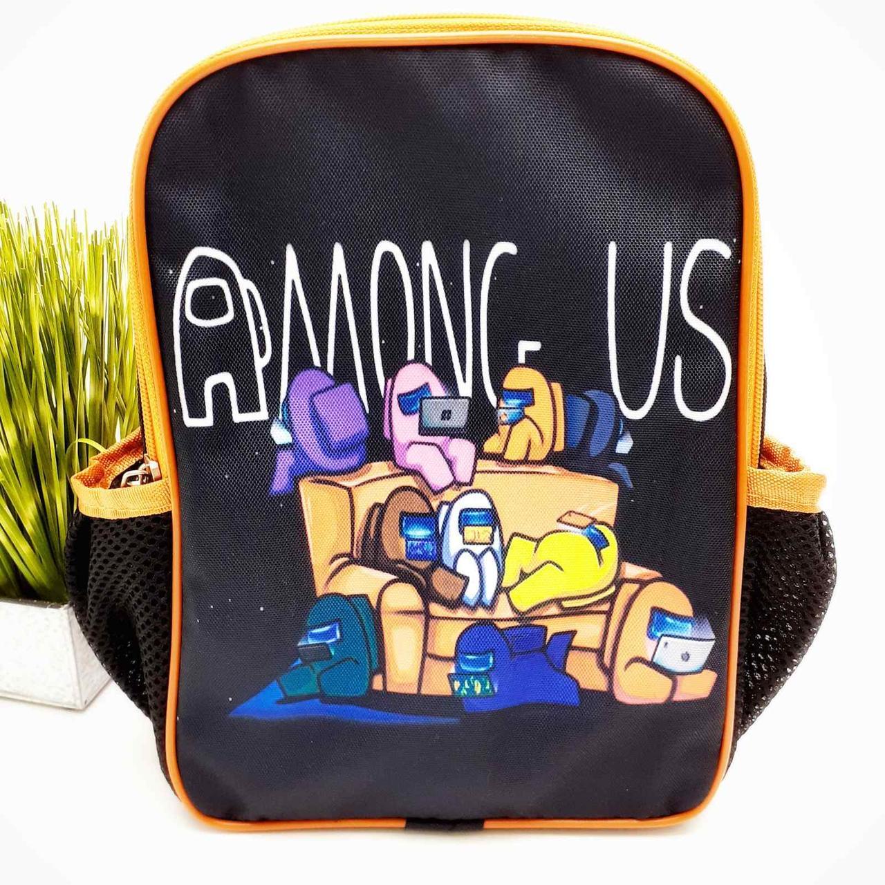 Рюкзак для детского сада полиэстер черный Арт.44-9 (Україна)