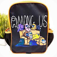 Рюкзак для детского сада полиэстер черный Арт.44-9 (Україна), фото 1