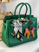 Роскошная женская сумка Гермес Биркин 30 см  (реплика), фото 1